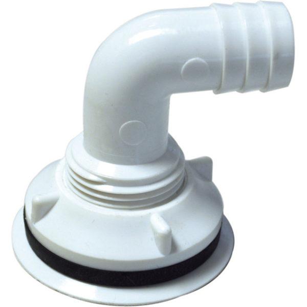 Tropfblech-Abflussverschraubung